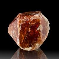 ".9"" Sharp WetLook Burgundy RED SPINEL Gemmy Terminated Crystal Pakistan for sale"