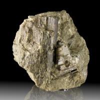 """7.2"""" Dark Green Terminated VESUVIANITE Crystals Sanford ME Site Closed for sale"""