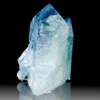 "3.4"" Lemurian Seed AQUA AURA QUARTZ Crystal Sharp Termination Arkansas for sale"