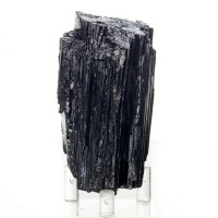 "3.5"" Bunch of Lustrous Midnight Black SCHORL TOURMALINE Crystals Brazil for sale"
