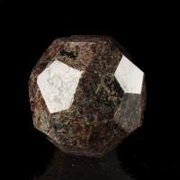 "2.7"" ALMANDINE GARNET Polished Blood Red Dodecahedral Crystal India for sale"