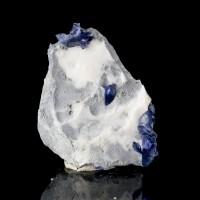 "1.8"" Trigonal CornflowerBlue BENITOITE 12 SharpShiny Crystals Benito CA for sale"