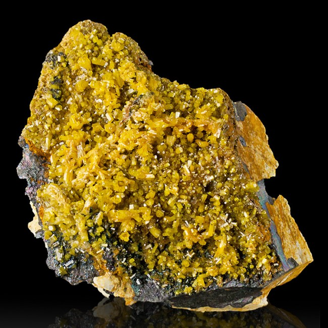 "2.5"" GoldenYellow MIMETITE BrilliantLuster Terminated Crystals Thailand for sale"