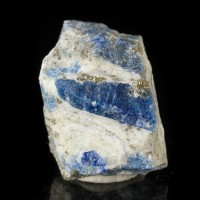 "1.5"" Rare AFGHANITE Terminated RoyalBlue Crystals in Matrix Afghanistan for sale"