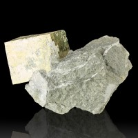 "4.3"" Brassy Golden PYRITE Cubic Crystals to 2.6"" on Matrix Spain for sale"
