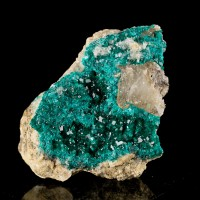 "2.7"" Sparkling Vibrant Forest Green DIOPTASE Crystals to 3mm Kazakhstan for sale"