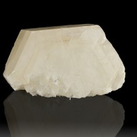 """4.8"""" X-Large Single Poker Chip CALCITE Crystal w-White Phantoms China for sale"""
