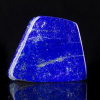 """3.5"""" .8LB Gem Grade Polished DeepBlue LAPIS LAZULI Lazurite Afghanistan for sale"""