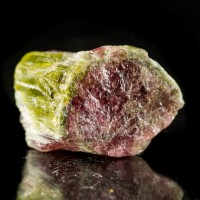 "1.1"" 120ct Fruity Green&Red Gemmy WATERMELON TOURMALINE Crystal Brazil for sale"