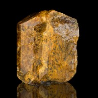 """1.8"""" Bush Farm Wet-Look Luster Brown FLUOR-UVITE Crystals Gouverneur NY for sale"""