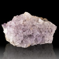 "5.8"" Lavender Cubic FLUORITE Sharp Gemmy Shiny Crystals El Tule Mexico for sale"
