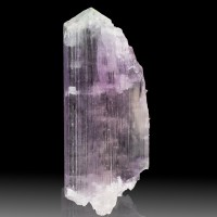 "3.8"" 410ct Pink KUNZITE &Green HIDDENITE Crystal Terminated Afghanistan for sale"