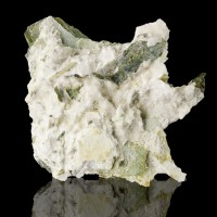 """4.5"""" White ARTINITE Radiating Acicular Crystals Clear Creek California for sale"""