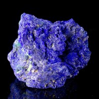 "2.5"" Super Saturated RoyalBlue Nodule of AZURITE Crystal Rosettes Congo for sale"