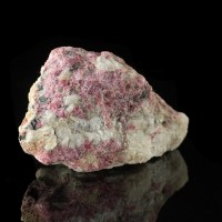 "3.3"" Vivid Orchid Pink Crystalline EUDIALYTE Kipawa Complex Quebec CAN for sale"