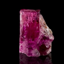 8.5mm 1.6ct Rich Magenta RED BERYL Sharp Gemmy Terminated Crystals Utah for sale