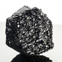 "2.2"" Brilliant Black SCHORL TOURMALINE Multi-Terminated Crystal Namibia for sale"