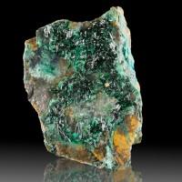 "2.9"" ATACAMITE Dark Crayon Green Crystals w-Brilliant Luster Australia for sale"