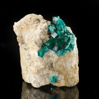 "2.6"" Vibrant Wet-Look Emerald Green DIOPTASE Crystals to .5"" Kazakhstan for sale"