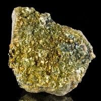 "5.1"" ShinySharp Iridescent Gold CHALCOPYRITE Crystals onMatrix Missouri for sale"