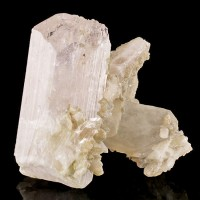 """3.4"""" Gem-Tipped DANBURITE Terminated Crystal Cluster Pale Pink Mexico for sale"""