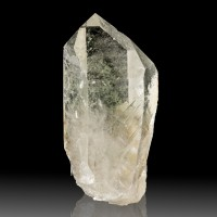 "4.1"" Superb Clear Sharp LEMURIAN SEED QUARTZ Terminated Crystal Brazil for sale"
