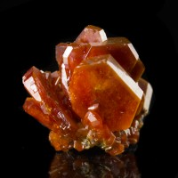 ".7"" Sharp Shiny Brilliant Red VANADANITE Gemmy Crystals to .4"" Morocco for sale"
