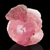 ".6"" Brite Raspberry Pink MUSHROOM TOURMALINE w-Trigonal Crystal Burma for sale"