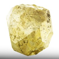 "2.4"" PYRITE Sharp Brassy Golden Yellow Pyritohedral Crystal Tanzania for sale"