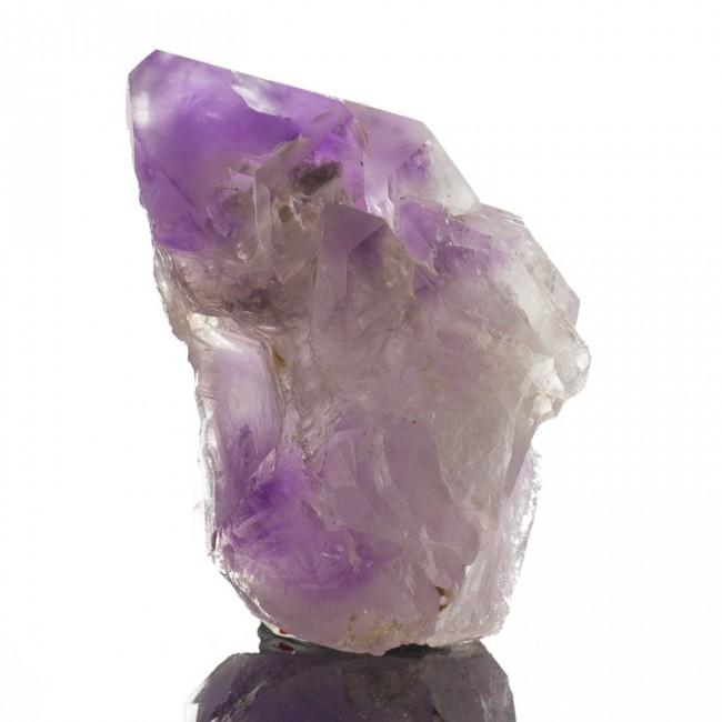 "3.8"" ELESTIAL AMETHYST Colorful Lavender Purple Jacare Crystal Kenya for sale"