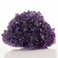 "3.4"" Hedgehog Cluster of Royal Purple-Violet AMETHYST Crystals Uruguay for sale"
