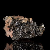 """5.5"""" Gleaming BOTRYOIDAL HEMATITE Bubbly Kidney Ore Formation Morocco for sale"""