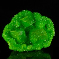 "8.9"" Electric Green BOUSSINGAULTITE Crystals to 3.5"" In Geode Germany for sale"