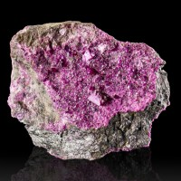"2.1"" Magenta Violet KAMMERERITE Crystals to 7mm Sharp & Sparkly Turkey for sale"