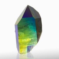 "3.1"" IridescentPurpleBlueGreen ROYAL AURA QUARTZ Sharp Crystal Arkansas for sale"