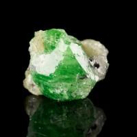 "1"" 69.3ct Shiny Rich Grass Green Gemmy TSAVORITE Sharp Crystal Tanzania for sale"