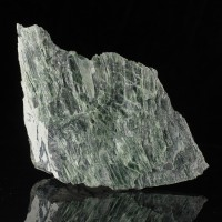 "6.9"" Dark Green Fibrous ANTIGORITE Crystals Variety of Asbestos Vermont for sale"
