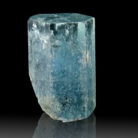 "1.1"" 57.1ct Clean Pristine Gem Sapphire Blue AQUAMARINE Crystal Nigeria for sale"