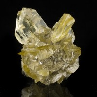"""3.1"""" SwordTip Clear SELENITE Crystals in Radiating Ball Winnipeg Canada for sale"""