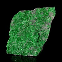 """3"""" Exuberant Emerald Green UVAROVITE Twinkling Sparkly Crystals Russia for sale"""