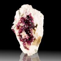 "2"" Brilliant Magenta Red ROSELITE Sparkly Translucent Crystals Morocco for sale"