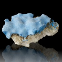 "2.8"" SHATTUCKITE Colorful Neon Turquoise Blue Crystal Mounds Namibia for sale"