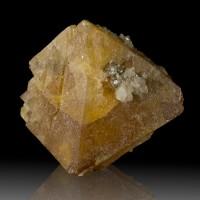 "1.7"" Colorful Lustrous Terminated Gemmy Orange SCHEELITE Crystal China for sale"