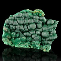 "2.9"" Deep Jungle Green 3D Botryoidal MALACHITE Bubble Crystals Congo for sale"