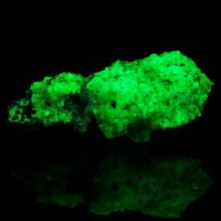 "4.4"" HYALITE OPAL Super Fluorescent SW UV Bright Electric Green Mexico for sale"