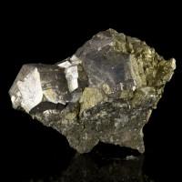 "2.1"" Silver SKUTTERUDITE SharpMetallic Crystals to.7"" Bou Azzer Morocco for sale"