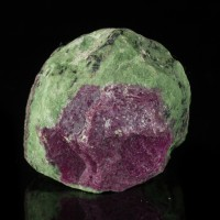 "2.2"" 275g Vivid Colorful Red and Green WATERMELON RUBY Crystal Tanzania for sale"