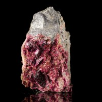 "2.6"" Deep PurpleMagenta ERYTHRITE Sharp Lustrous Crystals to.7"" Morocco for sale"