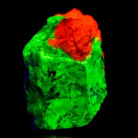 """2.7"""" WILLEMITE v.TROOSTITE Fluorescent Crystal New Jersey OldCollection for sale"""