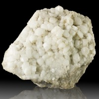 "4.4"" Classic White HARMOTOME Crystals Strontian Scotland Old Collection for sale"